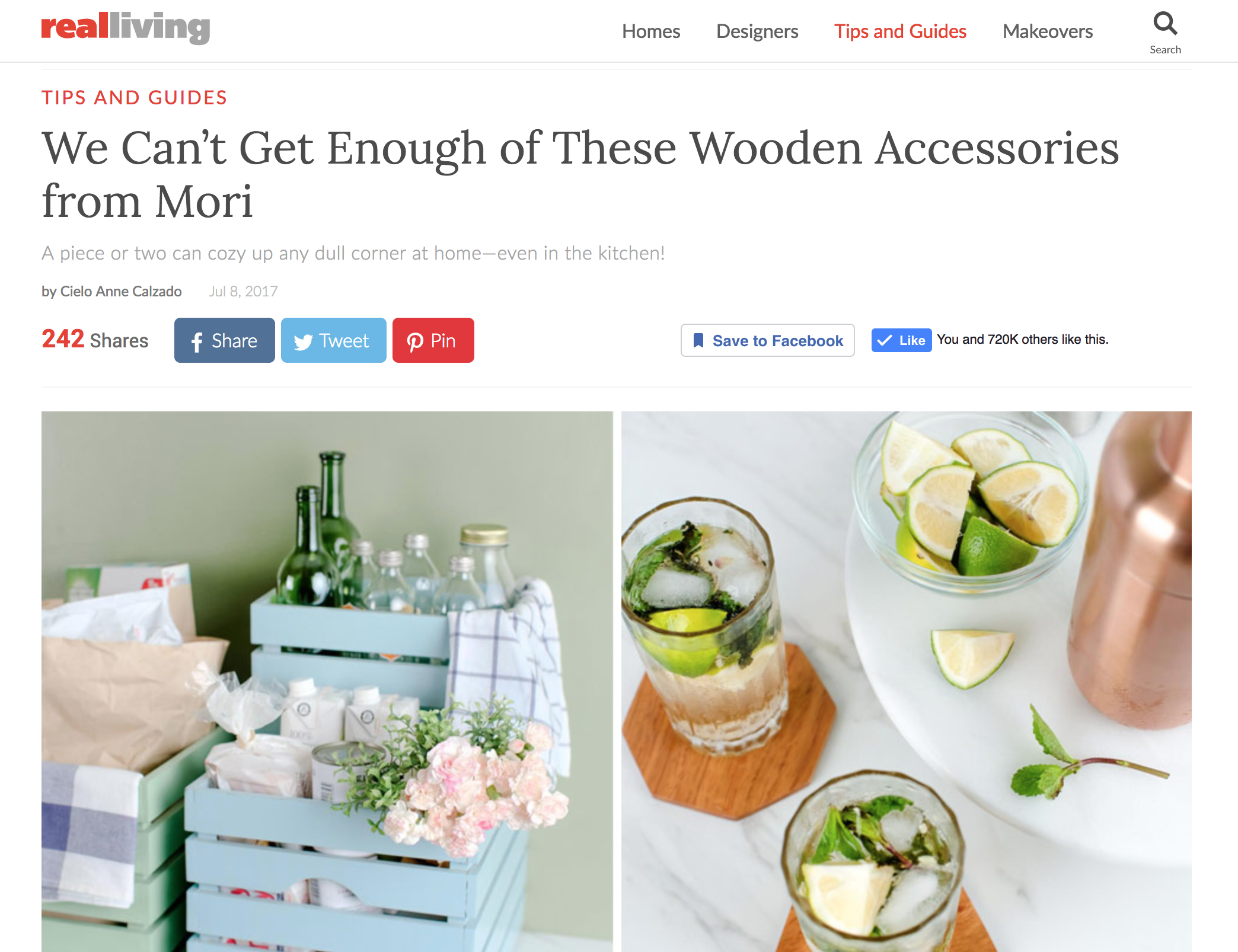 MORI | Real Living PH Feature