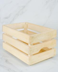 MORI | Small Wooden Crate