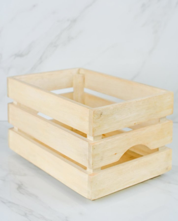MORI | Small Wooden Crate